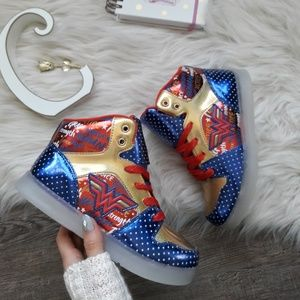 WB Shoes - NEW DC Wonder Woman High-Tops